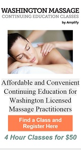 Washingon Massage Continuing Education Courses